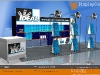6m by 3m portable roadshow display